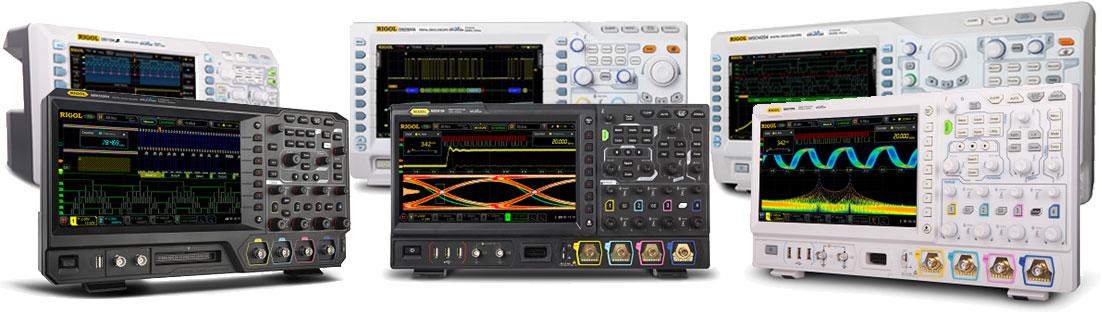 RIGOL Digital Oscilloscopes Compare RIGOL's UltraVisionII scopes