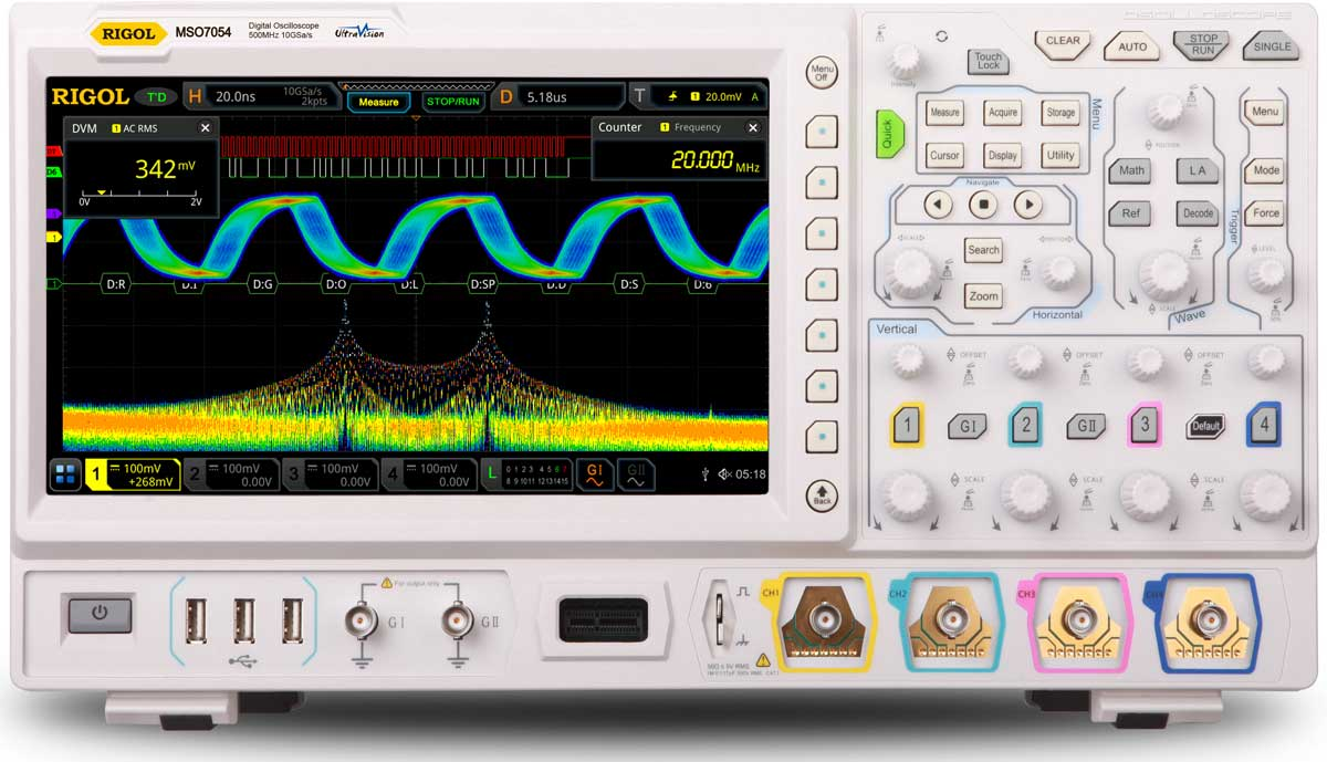 7000 Performance Mixed Signal Oscilloscopes | Electro-Meters