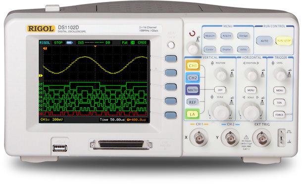 Digital Oscilloscope Basics : Digital oscilloscopes electro meters powered by rigol